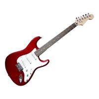 Classic Red E-Gitarre (weißes Schlagbrett)